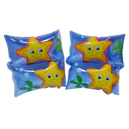 """Нарукавники для плавания Intex 59650 NP """"Звездочки"""", от 3 до 6 лет, размером 19*19 см"""