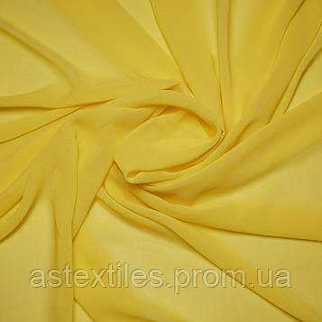 Шифон однотонний (жовтий)