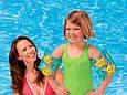 "Нарукавники для плавания Intex 59650 NP ""Звездочки"", от 3 до 6 лет, размером 19*19 см, фото 2"