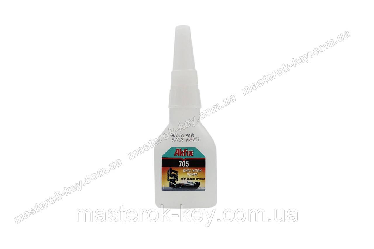 Клей гель Akfix 705 супер, высокой вязкости 50г - фото 1