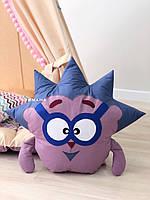 Игрушка мягкая подушка смешарики «Ежик»