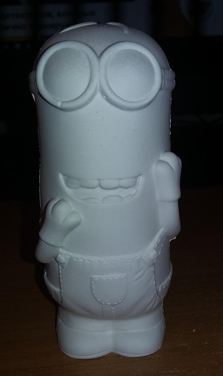 """Гипсовая статуэтка для раскрашивания """"Миньон Кевин"""""""
