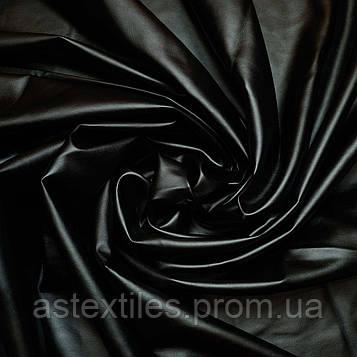 Кожзам на замші (чорний)