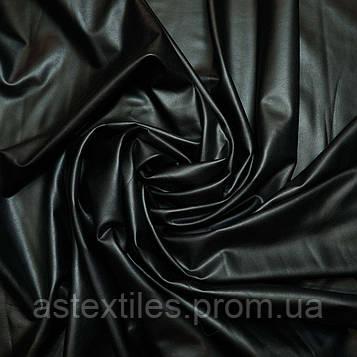 Кожзам на хутрі (чорний)