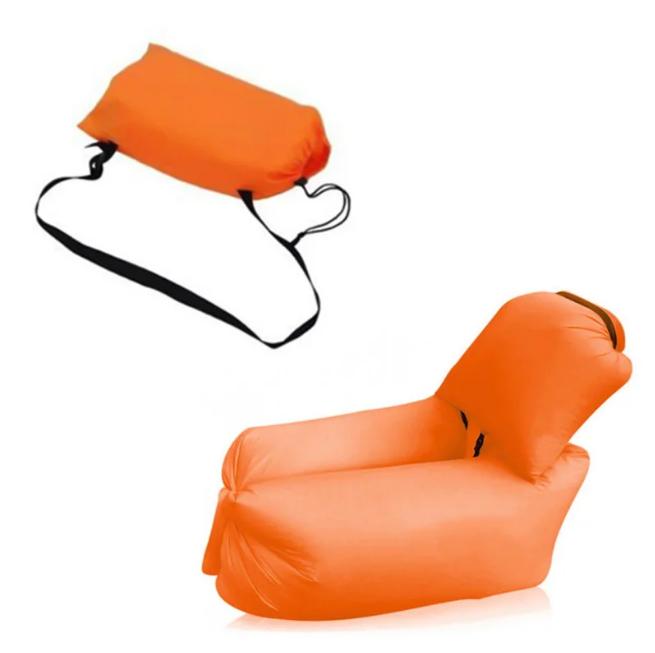 Ламзак с подушкой - надувной Матрас, мешок, диван ,кресло AIR Sofa 4 с ПОДУШКОЙ