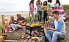 Складной барбекю гриль портативный мангал BBQ Grill Portable - жаропрочный Лучшая цена!, фото 2