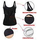 [ОПТ] Корсет Adjustable shoulder strap body waist cincher vest, фото 4