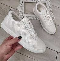 Кросівки жіночі білі, фото 1