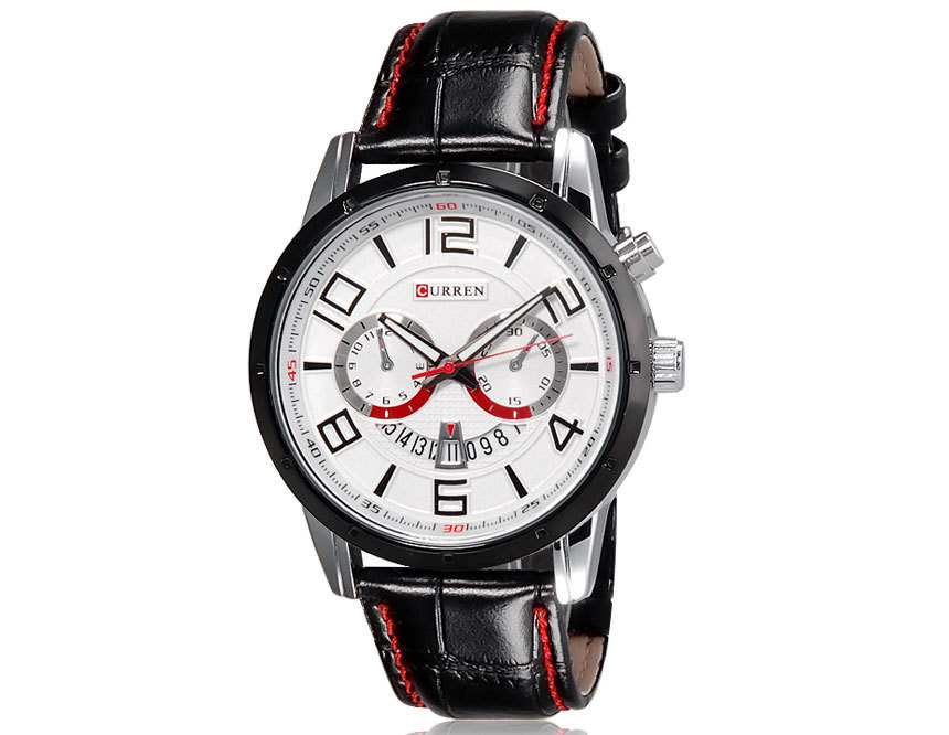 Часы мужские Curren Frost black-white