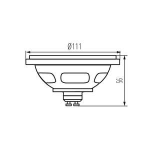 Лампа с диодами LED ES-111 LED SL/CW/SR, фото 2