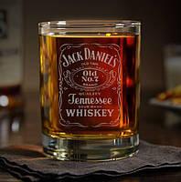 """Іменний стакан для віскі """"Джек Дениэлс"""""""