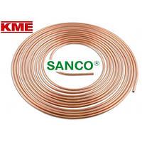 Труба мідна м'яка KME Sanco 15x1