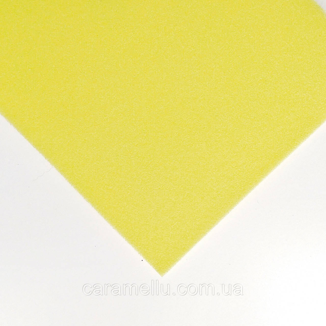 Ізолон 2мм. 20*30 див. Лимонний