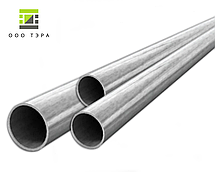 Нержавеющая круглая труба 45 мм 12Х18Н10Т пищевая сталь, бесшовная aisi 321, фото 2