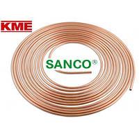 Труба мідна м'яка KME Sanco 18x1