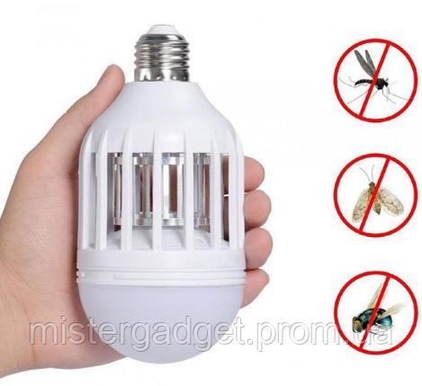 Светодиодная лампа Zapp Light ловушка для насекомых, фото 2