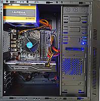 Игровой компьютер БУ intel Core i3 6100 , AMD RX580 8GB , 8GB DDR4 , SSD 240 GB, фото 1