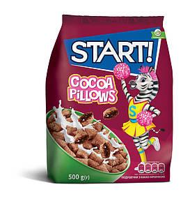 Подушечки з какао начинкою 500г START!
