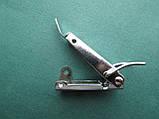 Нержавіюча засувка патефонная для навісного замку з отвором для пломби, фото 8