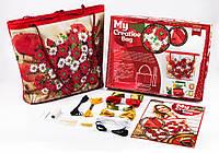 Набор для творчества Danko Toys My creative bag Маки Разноцветный YHGYRDYI, КОД: 916381