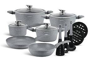 Набор посуды подарочный 15 предметов  Edenberg EB-5620