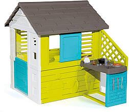 Домик для детей Smoby Радужный с кухней 810711