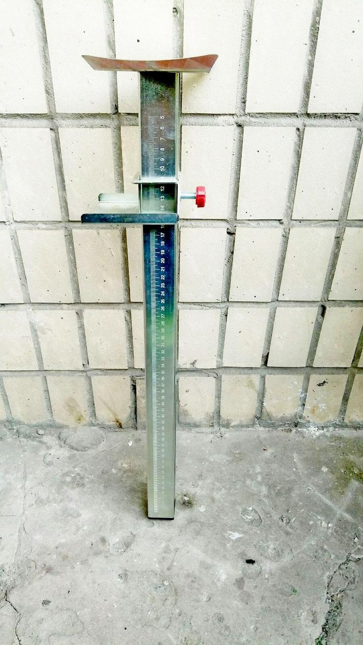 Стойка для поддержки плитки на стены металлическая h 4 - 60 см ТЕХНО инструмент