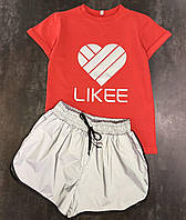 Комплект Likee для девочек, 134-164 рр. Артикул: BL9533-красный