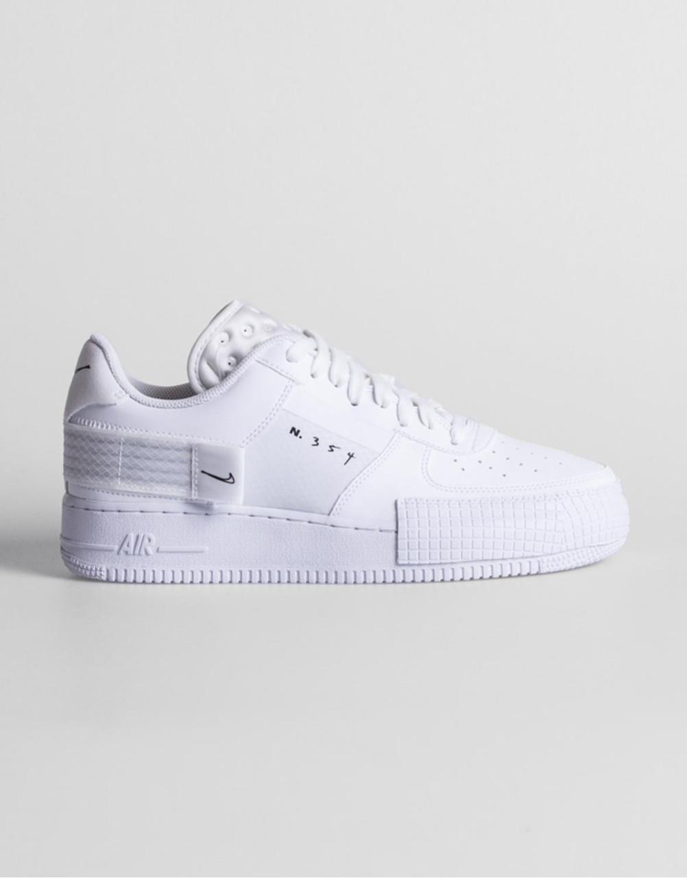 "Кроссовки Nike Air Force 1 Type ""Белые"""