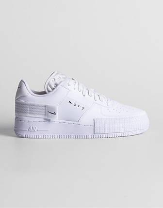 """Кроссовки Nike Air Force 1 Type """"Белые"""", фото 2"""
