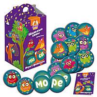 Игра с фишками Vladi Toys Шальные Совы Вижу слово Разноцветный ANQYTWDFS, КОД: 916330
