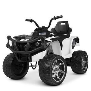 Квадроцикл детский Bambi M 4266EBLR-1 радиоуправление кожаное сиденье колеса EVA
