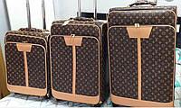 Чемодан в Трех размерах в стиле Louis Vuitton (реплика) Дорожный чемодан Louis Vuitton