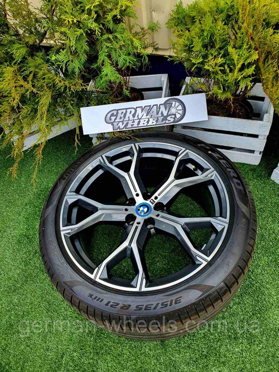 Оригинальные диски R21 BMW X5 G05 X6 G06 741M style