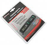 Термометр автомобільний CarCommerce внутрішній та зовнішній з підсвіткою на батарейках 1,5V ААА 42419, фото 2