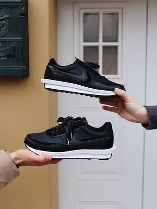 """Кроссовки Nike Sacai x LDWaffle """"Черные"""", фото 2"""