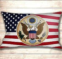 Подушка-картина Герб США 50х70см
