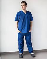 Медицинский костюм Гранит  синий, фото 1
