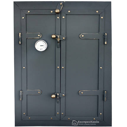 Дверца для коптильни TORRES 500x700 утепленная, фото 2