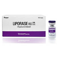 Гиалуронидаза Liporase 1500 ЕД (1х5ml)