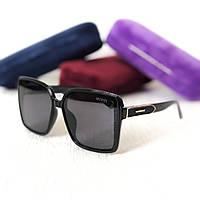 Женские солнцезащитные очки с поляризацией Gucci (5420) black