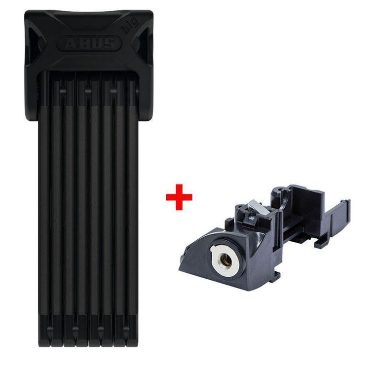 Велозамок ABUS 6015/120 Bordo SH + Batterylock Bosch PLUS rack