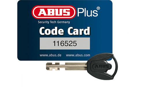 Велозамок ABUS 6015/120 Bordo SH + Batterylock Bosch PLUS rack, фото 2