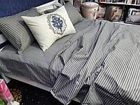 """Комплект постельного белья """"Серая полоса"""", бязь"""