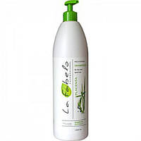 Шампунь для сухих и крашеных волос La Fabelo Professional с экстрактом бамбука и пшеничной плацентой 1000 мл. - 32988