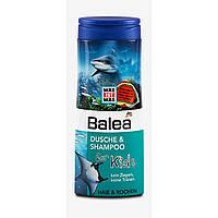 Шампунь, гель для душа детский Balea Kids, акулы, 300 мл. - 33946