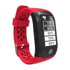 Фитнес браслет Smart Band SiMax S908 GPS Красный SBS908R, КОД: 178365