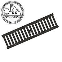 Решетка водоприемная PolyMax Basic РВ-10.14.50-ПП пластиковая щелевая АРТ. 208019