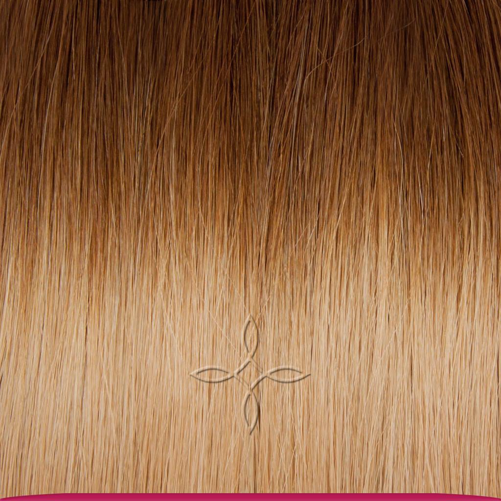 Натуральные Славянские Волосы в Срезе 60 см 100 грамм, Омбре №5B-18B