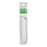 Кабельний хомут (стяжка) 370x4,8 (20 шт.) колір білий IMT46124